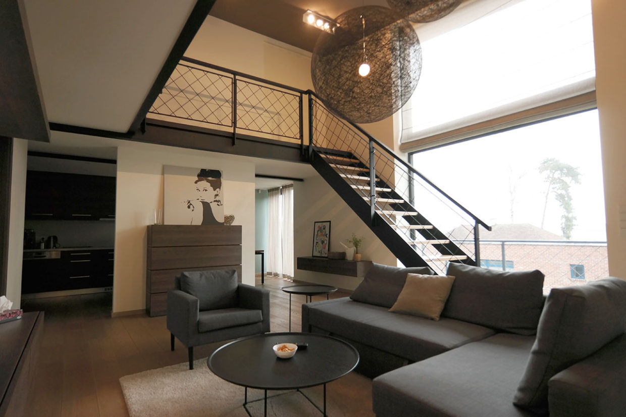 loft living room (design with Free Architects s.r.o.)
